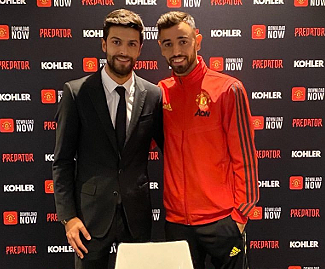Manchester United have completed the signing of Bruno Fernandes from Sporting Lisbon for a reported £47 million fee plus add-ons.