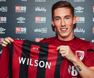 Liverpool winger Harry Wilson has joined Bournemouth on a season-long loan.