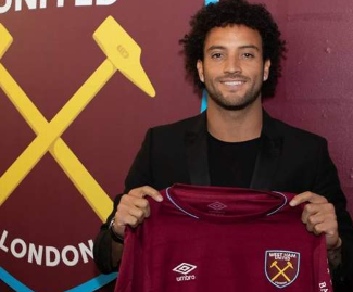 West Ham have completed the club-record signing of Felipe Anderson from Lazio on a four-year deal.