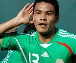 West Ham have announced the signings of Mexico winger Pablo Barrera