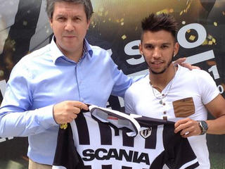 SCO Angers have signed midfielder Mathias Serin from Romorantin on a free transfer.