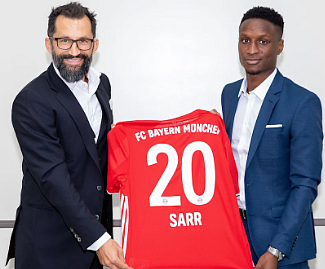 Bayern confirm the signing of Bouna Sarr on a 4-year contract until 2024 from Marseille.
