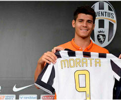 Juventus sign striker Alvaro Morata from Real Madrid for 20m euros
