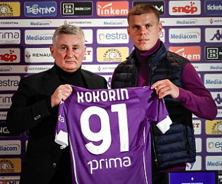 Fiorentina sign Russian striker Aleksandr Kokorin from Spartak Moscow, in a deal worth €4.5m.