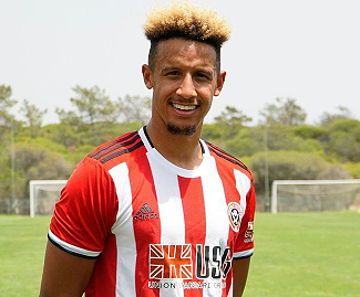 Newly-promoted Sheffield United have broken their club transfer record for the second time this month by signing Callum Robinson from Preston North End.