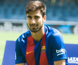 Barcelona have completed the signing of Portugal midfielder Andre Gomes from Valencia, both clubs have confirmed.