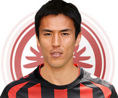 Eintracht Frankfurt has signed Japan midfielder Makoto Hasebe from relegated Nuremberg.