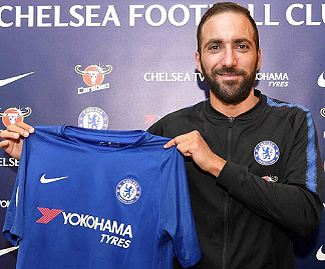 Chelsea have agreed a deal with Juventus to sign Gonzalo Higuain on loan until the end of the season, with an option to extend the loan by another 12 months.