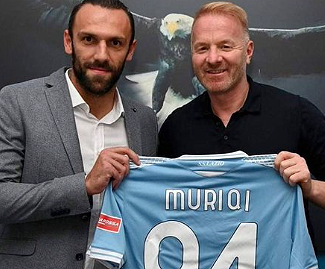 Lazio have signed Fenerbahçe S.K. and Kosovo international Vedat Muriqi for a fee €17.5 million, in addition to a possible €1.5 million in bonuses.