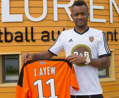 Ghana star Jordan Ayew leaves Marseille for Lorient.