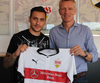 Stuttgart have completed a signing of Anastasios Donis from Juventus.