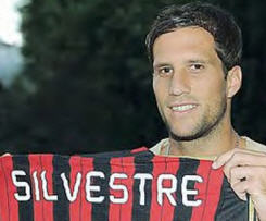 AC Milan has officially signed Inter Milan defender Matias Silvestre on a season-long loan.
