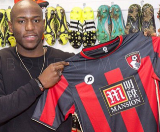 Bournemouth sign striker Benik Afobe from Wolves on a four-and-a-half year deal.