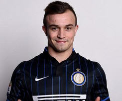 Shaqiri in now an Inter player. The Switzerland international has put pen to paper on a four-and-a-half-year contract until 30 June 2019.