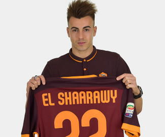 Roma have signed forward Stephan El Shaarawy on loan from AC Milan with an option for a permanent deal worth close to €13million.