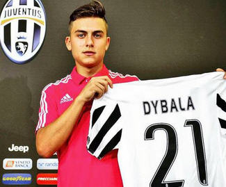 Juventus have completed the signing of Palermo's Argentinian forward Paulo Dybala for a fee of €32 million.