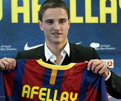 FC Barcelona officially sign Ibrahim Afellay