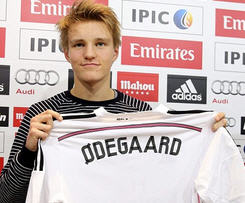Norwegian teenager Martin Odegaard has completed his move to Real Madrid.