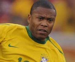 Malaga have confirmed the signing of Julio Baptista from Roma on a three-and-a-half year deal