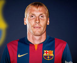 Barcelona have completed the signing of Valencia defender Jeremy Mathieu.
