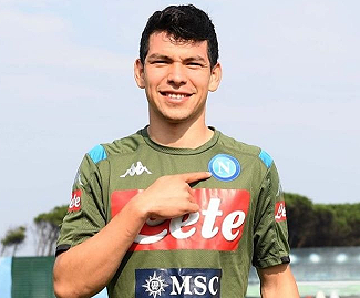Napoli have confirmed the signing of PSV winger Hirving Lozano, who has moved to Italy for a fee believed to be in the region of €42m.