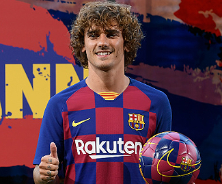Antoine Griezmann has joined Barcelona from Atlético Madrid after 