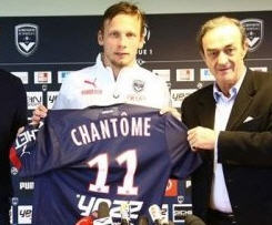 Bordeaux have swooped to sign midfielder Clement Chantome from Ligue 1 champions Paris Saint-Germain.