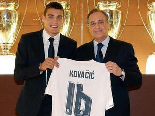 Real Madrid have confirmed the signing of Mateo Kovacic from Inter Milan on a six-year contract.