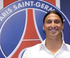 Ibrahimovic completes £31m move to Paris St Germain.