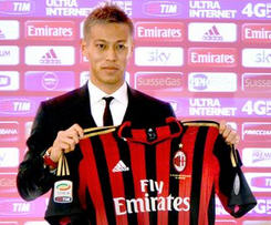 Keisuke Honda has joined AC Milan on a free transfer from CSKA Moskva, signing a three-and-a-half-year contract.