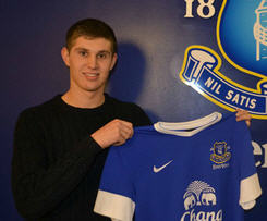 Everton have signed Barnsley's England Under-19 defender John Stones on a five-and-a-half-year deal for a fee thought to be about £3m.