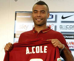 Former Chelsea defender Ashley Cole has joined Roma on a two-year deal.