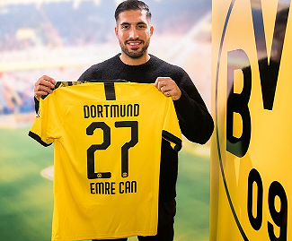 Juventus have confirmed that Emre Can has joined Borussia Dortmund on loan for the rest of the season with an obligation to buy in the summer.