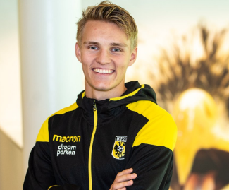 Real Madrid have confirmed that Martin Odegaard has joined Vitesse Arnhem on a season-long loan.