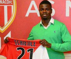 Elderson Echiejile has joined big-spending French Ligue 1 side Monaco from Portuguese club Sporting Braga.
