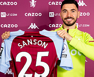 Aston Villa have completed the signing of midfielder Morgan Sanson from Marseille for a fee reportedly in the region of £14 million.