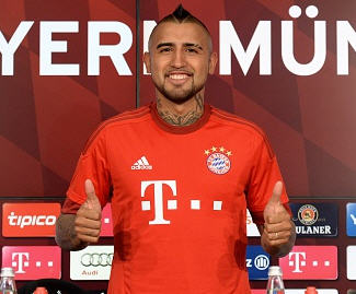 Bayern Munich have confirmed the signing of Arturo Vidal from Juventus after agreeing a €37 million fee with the Serie A champions.