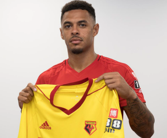 Watford have confirmed the signing of Andre Gray from Burnley for a club-record fee of £18m.