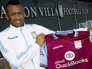 Aston Villa have completed the signing of forward Jordan Ayew from French club Lorient.