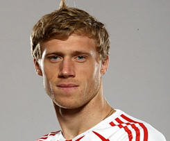 Pavel Pogrebnyak has completed his move to Fulham from Stuttgart on a six-month contract, the Premier League club have announced.