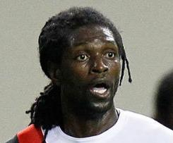 Manchester City striker Emmanuel Adebayor has joined Real Madrid on loan until the end of the season