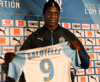 Marseille have completed the signing of Italy striker Mario Balotelli from their French rivals Nice, the Ligue 1 club confirmed on Wednesday.