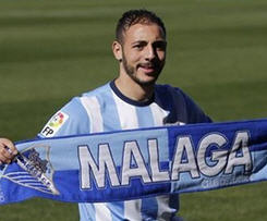 Málaga confirmed the signing of Nordin Amrabat on Wednesday, following the completion of his medical, which seals his loan move from Turkish side, Galatasaray.