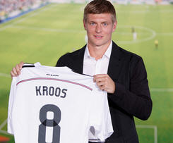 Toni Kroos has completed his €25million move to Real Madrid from Bayern Munich.