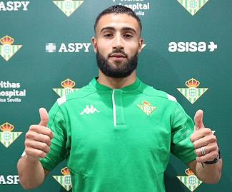 Olympique Lyonnais captain Nabil Fekir has moved to Spain's Real Betis for an initial 19.75 million euros fee, the French club has said.
