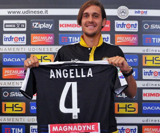 Gabriele Angella has left Watford to sign a new contract with Udinese until June 2020.