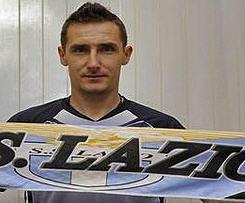 Miroslav Klose joins Lazio on free transfer from Bayern Munich