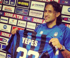 Atalanta director general Pierpaolo Marino has announced the signing of Mario Yepes.