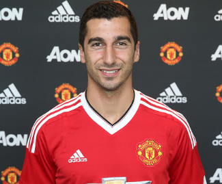 Manchester United have announced the signing of Henrikh Mkhitaryan for an undisclosed fee believed to be £30m.