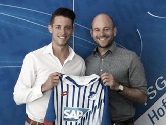 Hoffenheim have signed former Cologne striker Mark Uth from Heerenveen.